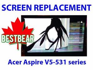 Screen Replacment for Acer Aspire V5-531 Series Laptop