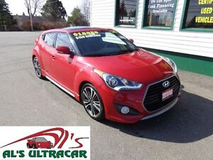 2016 Hyundai Veloster Turbo only $143 bi-weekly all in!