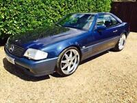 1990 Mercedes Sl 300 Blue 98k Warranted Miles