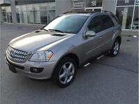 2007 MERCEDES-BENZ ML500 4MATC/NAVI/DVD/MOON/SPT PKG/NO ACCIDENT