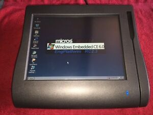 VGC Micros WS4 Work Station All-in-One POS Touchscreen,E7,warr