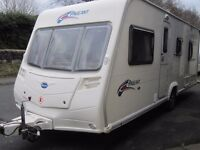 Bailey Pageant Fixed Bed Four Berth Touring Caravan