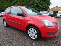 Ford Fiesta 1.25 Style, 3Dr, Red, in Superb Condition Throughout, Long MOT, Perfect First Car