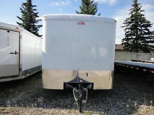 Cargo Mate Enclosed Utility Trailer with Heavy Axles