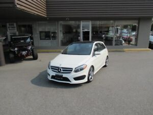 2015 Mercedes-Benz B Class B250 4MATIC WITH SPORT & AMG PACKAGE