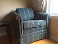 Designer Ashley fabric sofa set 3 seat couch one chair