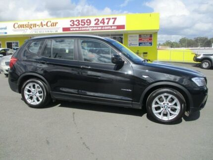 2011 BMW X3 F25 MY1011 xDrive20d Steptronic Black 8 Speed Automatic Wagon Kedron Brisbane North East Preview
