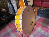 Ozark 2143 OG 'GOLD LAYDIE' Professional 5-String Banjo for Bluegrass or Old Time