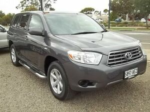2009 Toyota Kluger GSU45R KX-R AWD Grey 5 Speed Sports Automatic Wagon Murray Bridge Murray Bridge Area Preview
