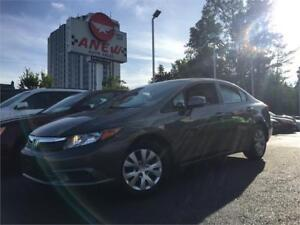 2012 Honda Civic Sdn EX |116KM | CERTIFIED | MOONROOF | AUTO