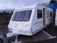 2007 Compass Magnum 544 Classic 4 Berth FIXED BED Inc Awning.