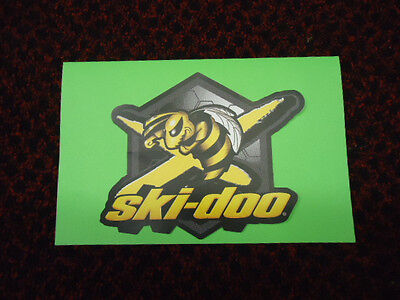 "OEM Ski Doo Bumble Bee Decal 484800241 Angry Bee Bombardier Logo Graphic 5"" x 6"""