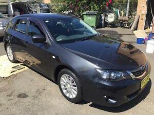 2007 Subaru Impreza MY08 RX (AWD) Black 4 Speed Automatic Hatchback Campbelltown Campbelltown Area Preview