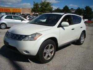 2005 NISSAN MURANO - ONE OWNER * CLEAN * CERTIFY