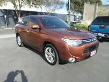 2012 Mitsubishi Outlander ZJ Aspire (4x4) Copper 6 Speed Automatic Wagon Melrose Park Mitcham Area Preview
