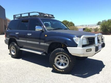 1998 Toyota Landcruiser FZJ105R GXL Blue 4 Speed Automatic Wagon Wangara Wanneroo Area Preview