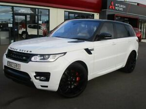 2016 Land Rover Range Rover Sport L494 17MY SDV6 HSE White 8 Speed Sports Automatic Wagon Goulburn Goulburn City Preview