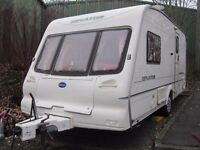 Bailey Senator Two Berth Touring Caravan