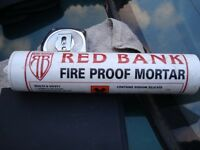 Fireproof Mortar Red bank cartridges
