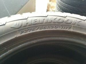 Studded Winters P275/55R20 – like new
