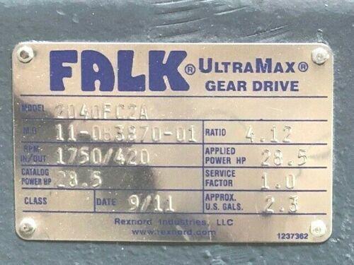 FALK 2040FC2A GEAR SPEED REDUCER / GEARBOX