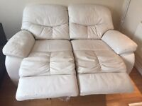 Recliner sofa, coffee table, Glass Dinning table
