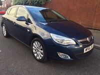 VAUXHALL ASTRA 2.0 CDTI ELITE, HEATED LEATHER, FSH, 1 OWNER, 12 MONTHS WARRANTY+BREAKDOWN COVER