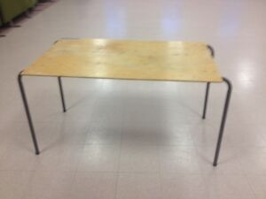 Free 3'x5' Stacking Tables