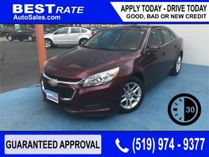 CHEVY MALIBU LT - APPROVED IN 30 MINUTES! - ANY CREDIT LOANS