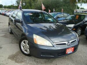 2007 Honda Accord EX-L Navi. Accident & Rust Free Leather Sunroo