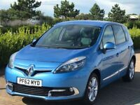RENAULT SCENIC 1.5 DYNAMIQUE TOMTOM LUXE ENERGY DCI S/S 5d 110 BH (blue) 2012