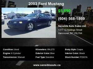 2003 Ford Mustang Pony pkg edition