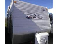 2008 JAY FLIGHT 28 BHS PRE-OWNED TRAVEL TRAILER