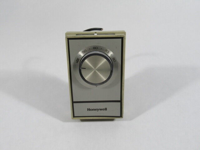 Honeywell T498A1810 Line Voltage Non Programmable Thermostat 40-80Deg F USED