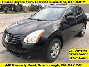2008 Nissan Rogue S AWD  FINANCE 100% Approved Guaranteed