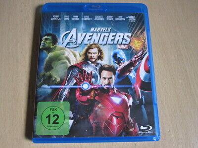 Marvel ' s  The  Avengers   Thor Iron Man Hulk Cpt.America      Blu Ray