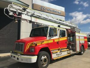 1996 Freightliner Dual Cab FL80 Running Fire Fighting Unit Pooraka Salisbury Area Preview