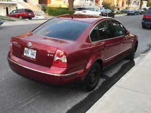 TEL QUEL 2002 Volkswagen Passat V6 4Motion Toit ouvrant/Cuir