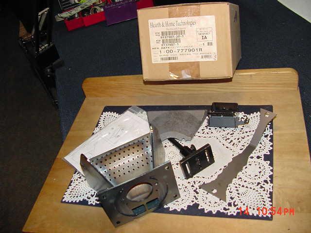 Hearth & Home Harman Absolute43 Burn Pot Weldment 1-00-777901R, ABS43 to ABS43-C