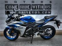 2015 Yamaha YZF-R3 - V1848 - ** No payments until 2017**