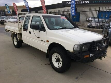 1995 Holden Rodeo TF DLX Space Cab White 5 Speed Manual Cab Chassis Fyshwick South Canberra Preview