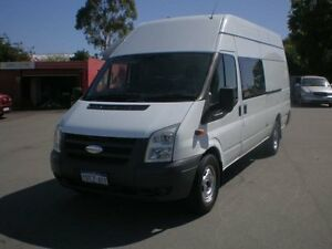 2009 Ford Transit VM MY08 Jumbo LWB High Roof (DRW) White 6 Speed Manual Van Victoria Park Victoria Park Area Preview