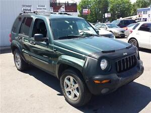 2003 JEEP LIBERTY 4X4 LIMITED AIR CLIMATISÉ
