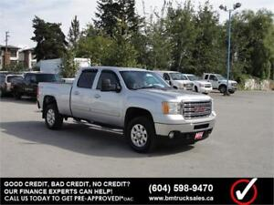 2014 GMC SIERRA 2500HD SLT CREW CAB SHORT BOX 4X4 LEATHER