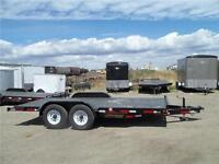 REDUCED PRICED 14K 7X18 EQUIPMENT TRAILER $4800.00 NOW $4500