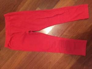Item 153- Fox and Finch Brand red leggings in size 6 Burwood Burwood Area Preview