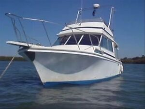 PRICE REDUCED TO 39K ono Family Boat / Cruiser MARINER 31 FLYBRIDGE Hope Island Gold Coast North Preview