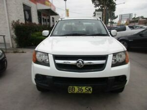 2009 Holden Colorado RC MY09 LX White 4 Speed Automatic 2D CAB CHASSIS
