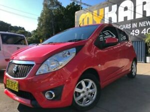 2012 Holden Barina MJ CD Red 5 Speed Manual Hatchback Islington Newcastle Area Preview