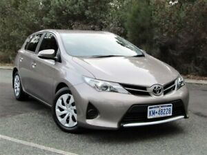 2014 Toyota Corolla ZRE182R Ascent S-CVT Bronze 7 Speed Constant Variable Hatchback Kalamunda Kalamunda Area Preview